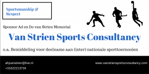 Logo Van Strien Sports Consultancy